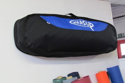 kite board bag with wall